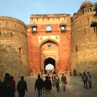 Entrée de Purana Qila / The Old Fort