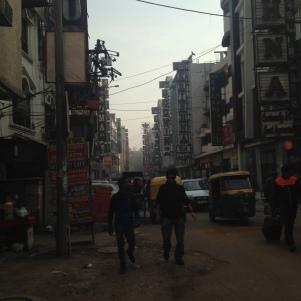 Réveil à Delhi
