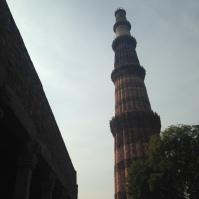 Qutab Minar, le minaret