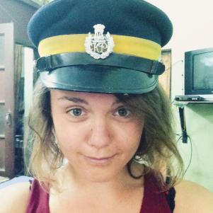 Capitaine Kholomb - Selfie retouché réseaux sociaux