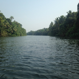Départ à bord de notre pirogue / Backwaters / Kerala