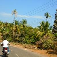 Route de Quepem à moto