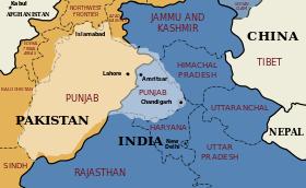 Focus région du Punjab