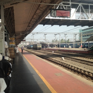 Rendez vous matinal gare de Kochi