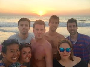 Selfie Sunset / Anjuna / Goa Sud