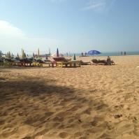 """""""Notre"""" plage / Patnem / Goa Sud"""