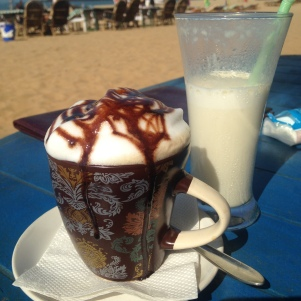 Petit déjeuner / RoundCube / Patnem Beach / Goa Sud