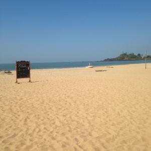 Plage de Patnem / Goa Sud