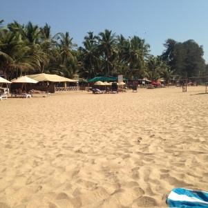Plage d'Anjuna / Goa Sud