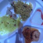 Assortiment riz & sauces
