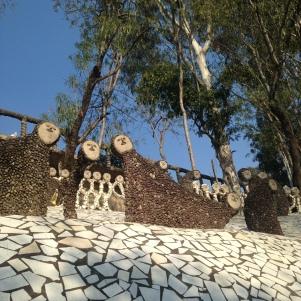 Sculptures surréaliste - Rock Garden - Chandigargh