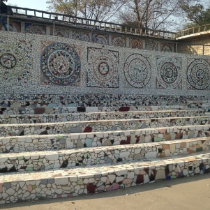 Un peu de Gaudi - Rock Garden - Chandigargh