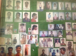 Individus recherchés - Police de Kochi