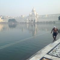 Bords de lac - Amritsar