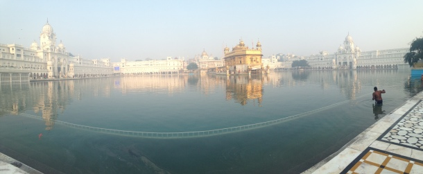Panoramique - Golden Temple - Amritsar