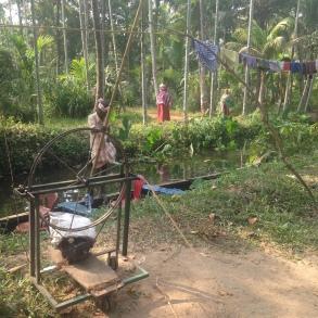 Tissage de fil de coco - Backwaters - Kerala