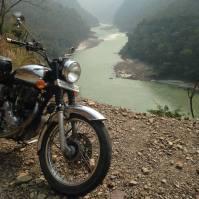 Bike & water sur les bords du Gange