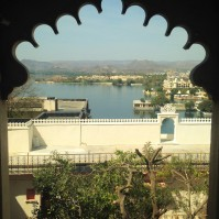 Vue sur le lac du City Palace - Udaïpur
