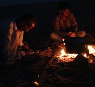 Cooking dans le désert - Jaisalmer