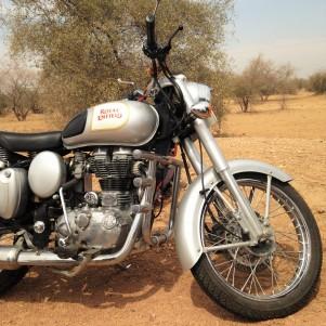 Le bolide en route vers Jodhpur