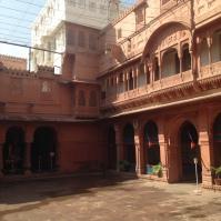 Entrée du fort de Bikaner