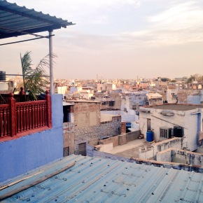 I got the Blue à Jodhpur