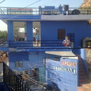 Restaurant de l'auberge Hill View à Jodhpur