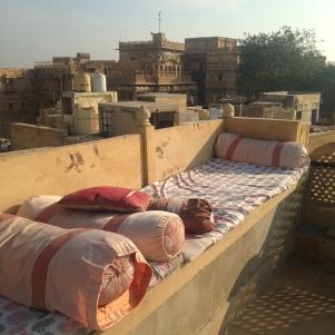 Sur la terasse de notre auberge - Jaisalmer