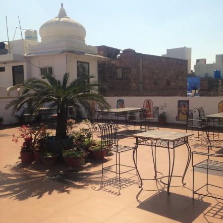 Spot Lunch - Nirvana restaurant - Jodhpur