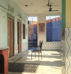 Terasse du restaurant de notre auberge - Jodhpur