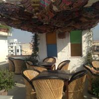 Terrasse aménagée - Moustache Guest House - Jaïpur