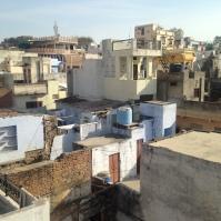 Vue de la terrasse de l'hôtel - Pushkar Palace - Udaïpur
