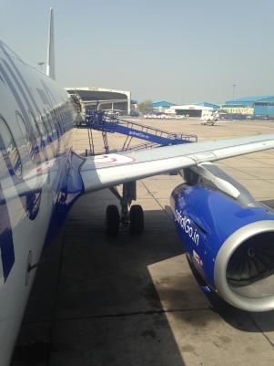 Parées au décollage - De Delhi à Bombay