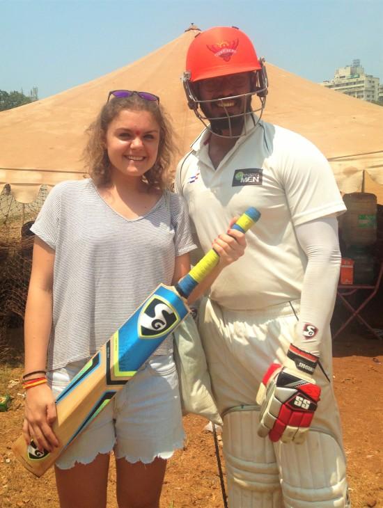 Cricket player - Bombay