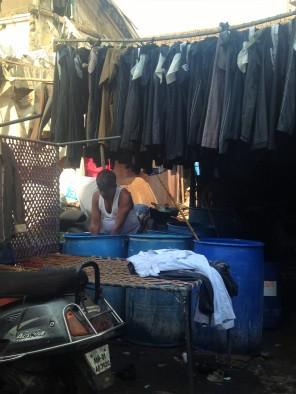 Laverie de rue / Bombay