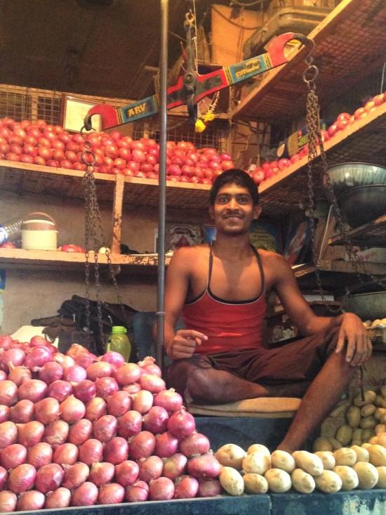 Vendeur d'oignons - Bombay