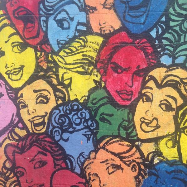 Visages - Ecole d'art - Bombay