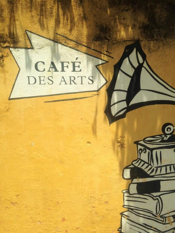 Au café des arts - Pondi