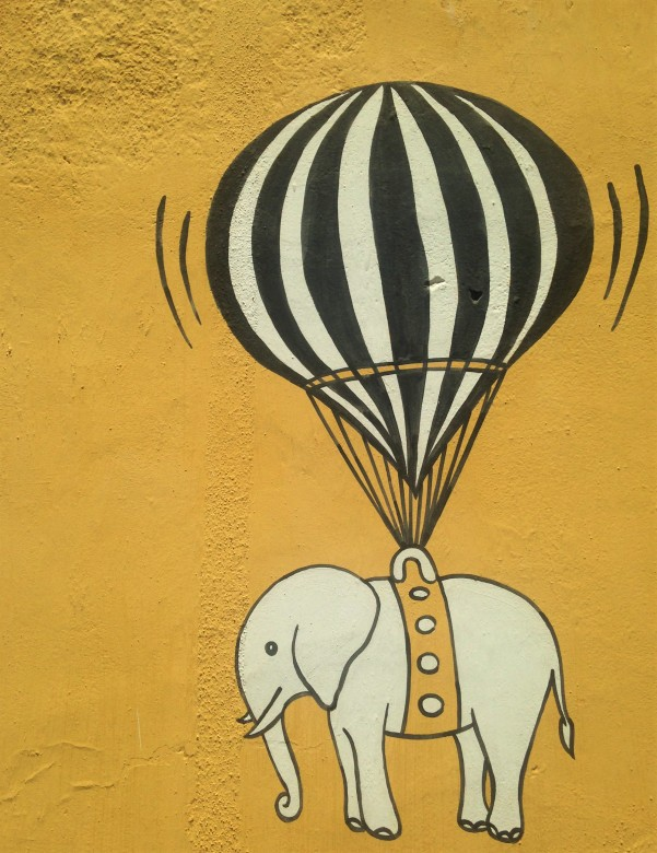 Balloon et elephant - Pondi
